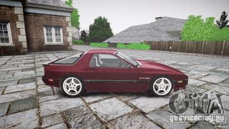 Mazda RX7 FC3S для GTA 4 вид сзади