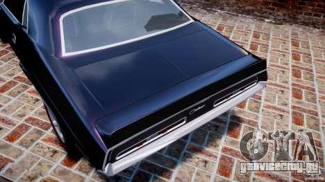 Dodge Challenger 1971 RT для GTA 4 колёса