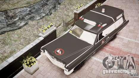 Cadillac Wildlife Control для GTA 4 вид изнутри