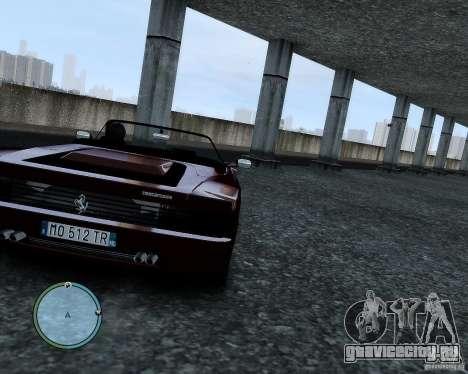 Ferrari Testarossa для GTA 4 вид изнутри