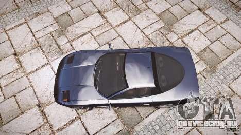 Coquette FBI car для GTA 4 вид сбоку