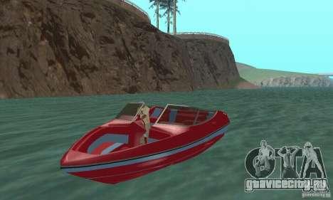 Speedboat для GTA San Andreas
