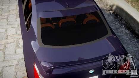 BMW M5 Lumma Tuning [BETA] для GTA 4 вид снизу