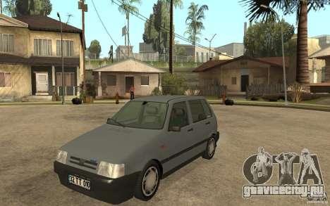 Fiat Uno 70s для GTA San Andreas