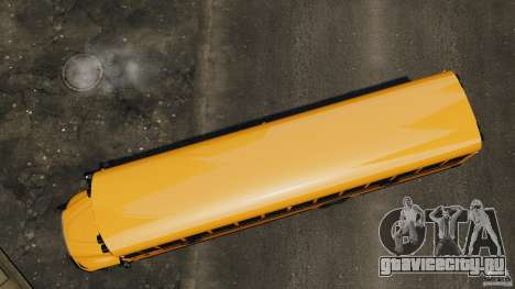 School Bus v1.5 для GTA 4 вид справа