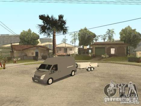 Ford Transit 2007 для GTA San Andreas