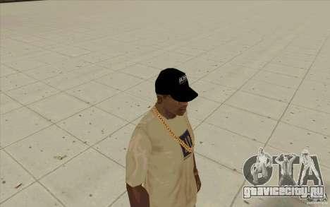 Кепка boss black для GTA San Andreas второй скриншот