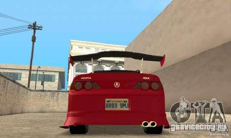 Acura RSX New для GTA San Andreas