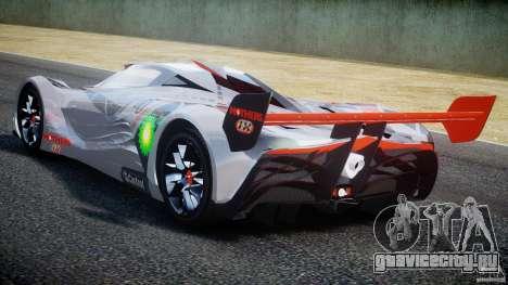 Mazda Furai Concept 2008 для GTA 4 вид справа