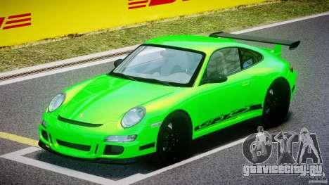 Porsche 997 GT3 RS для GTA 4 вид слева