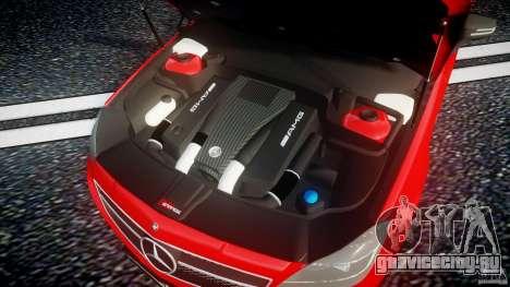 Mercedes-Benz CLS 63 AMG 2012 для GTA 4 вид сзади