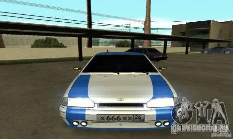 Ваз 2114 Nogay Tun для GTA San Andreas вид справа