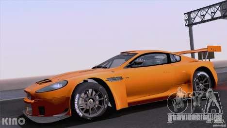 Aston Martin Racing DBRS9 GT3 для GTA San Andreas вид сзади
