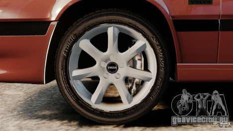 Volvo 850 Wagon 1997 для GTA 4 вид изнутри