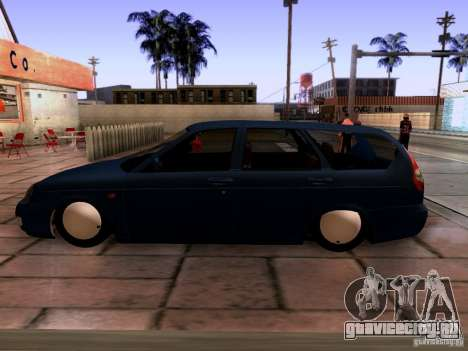 Lada Priora Универсал для GTA San Andreas вид справа