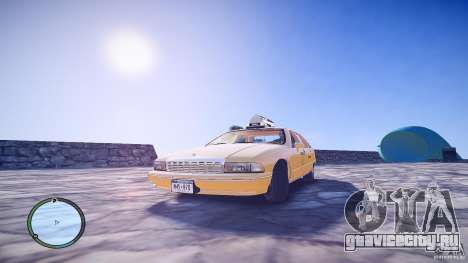 Chevrolet Caprice Taxi для GTA 4