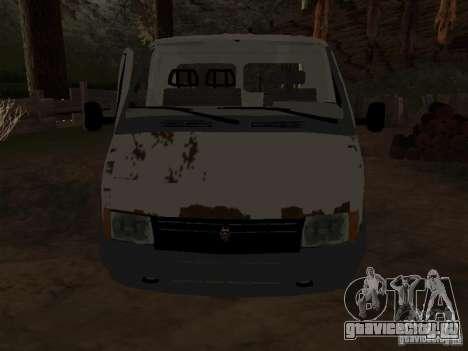 Кузов ГАЗели для GTA San Andreas второй скриншот
