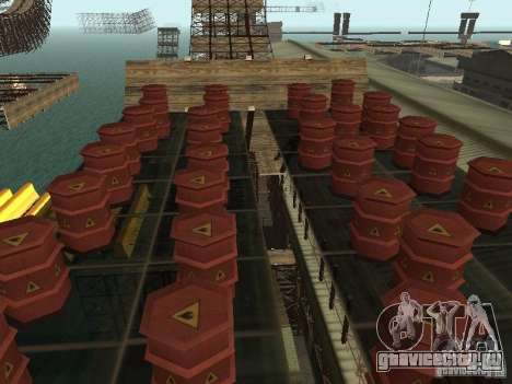 Huge MonsterTruck Track для GTA San Andreas двенадцатый скриншот