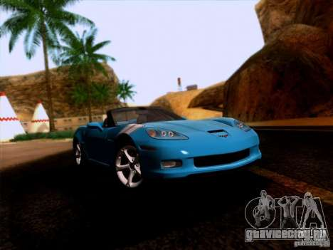 Chevrolet Corvette C6 Convertible 2010 для GTA San Andreas