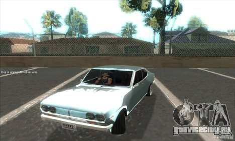 Mazda RX-2 2-door Coupe US для GTA San Andreas