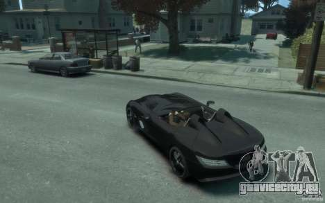 Mercedes Benz SLR McLaren Stirling Moss 2010 EPM для GTA 4 вид сзади слева