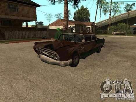 OceanicShit для GTA San Andreas вид сзади