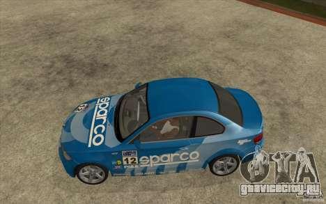 BMW 135i Coupe для GTA San Andreas вид сбоку