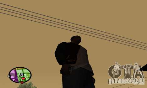 German WWII Knife для GTA San Andreas второй скриншот