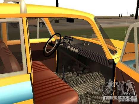 Иж 412 ГАИ для GTA San Andreas вид справа