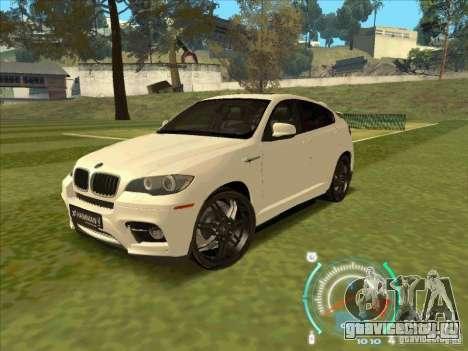BMW X6 M Hamann Design для GTA San Andreas
