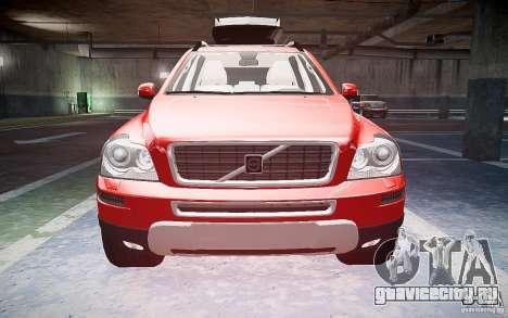 Volvo XC 90 для GTA 4 вид изнутри