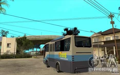 Hino Evo C для GTA San Andreas вид сзади слева