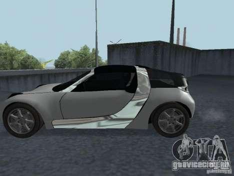 Smart Roadster Coupe для GTA San Andreas вид справа