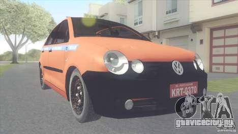 VW Polo Taxi de Porto Alegre для GTA San Andreas