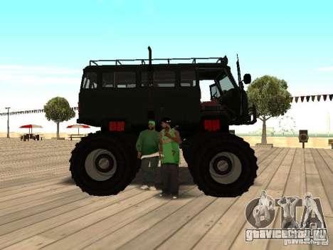 Uaz Monster для GTA San Andreas вид справа