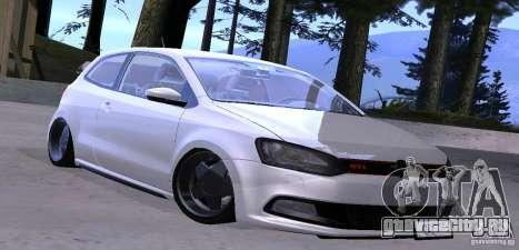 Volkswagen Polo GTI Stanced для GTA San Andreas