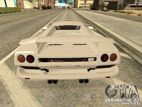 Lamborghini Diablo VT 1995 V2.0 для GTA San Andreas вид справа
