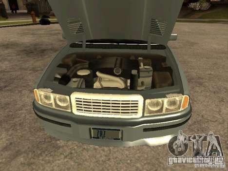 HD Mafia Sentinel для GTA San Andreas вид справа