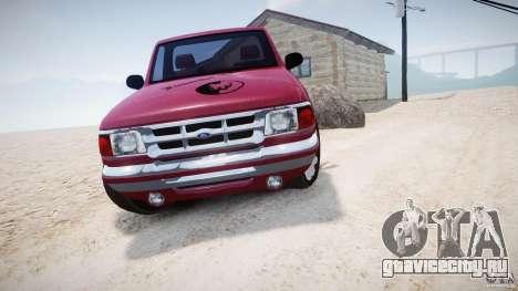 Ford Ranger для GTA 4 вид сзади