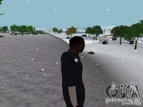 Snow MOD 2012-2013 для GTA San Andreas десятый скриншот