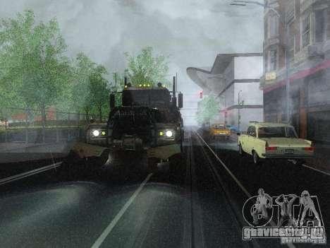 Armored Mack Titan Fuel Truck для GTA San Andreas вид справа