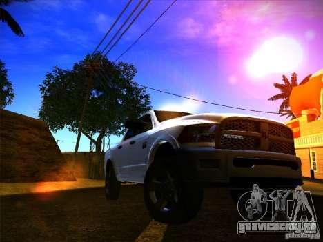Dodge Ram Heavy Duty 2500 для GTA San Andreas вид сзади слева