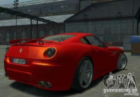 Ferrari 599 GTB Novitec Rosso для GTA 4 вид сзади слева