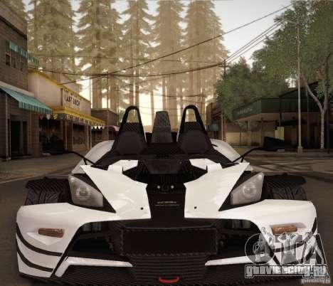 KTM-X-Bow для GTA San Andreas вид сбоку