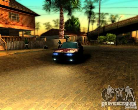 ENB For medium PC для GTA San Andreas третий скриншот