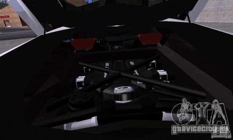 Lamborghini Aventador LP700-4 Final для GTA San Andreas вид сзади