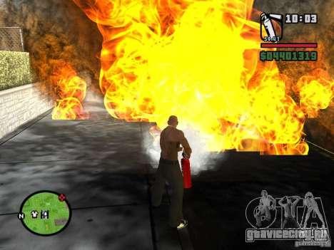 Новый огнетушитель для GTA San Andreas второй скриншот