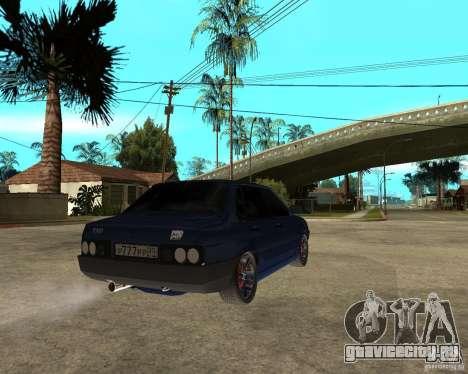 Ваз 21099 Tuning By Danil для GTA San Andreas вид сзади слева