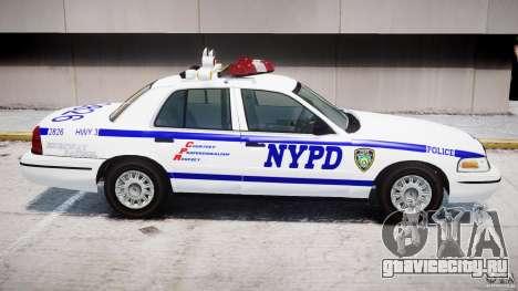 Ford Crown Victoria NYPD для GTA 4 колёса