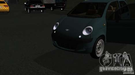 Daewoo Matiz для GTA San Andreas вид справа